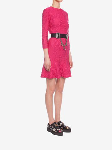 ALEXANDER MCQUEEN Quilting Pencil Dress Mini Dress D d