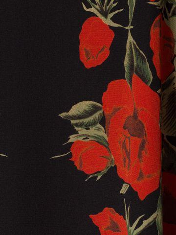 ALEXANDER MCQUEEN Floral Empire-line Dress Mini Dress D a