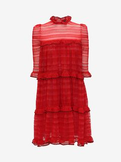 ALEXANDER MCQUEEN Mini Dress D A-Line Mini Dress f