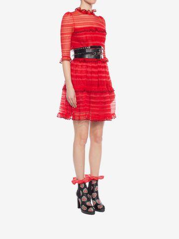 ALEXANDER MCQUEEN A-Line Mini Dress Mini Dress D d