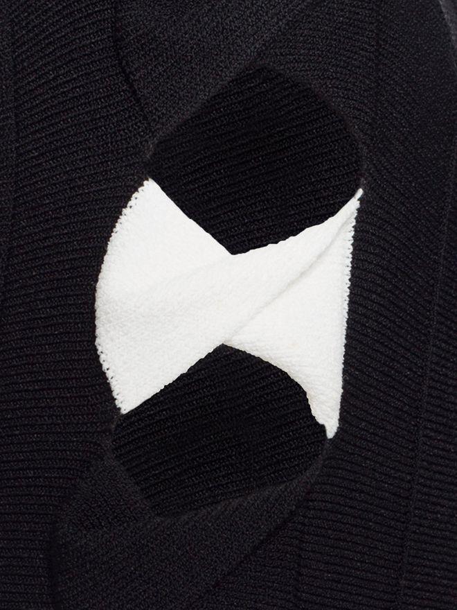 ALEXANDER MCQUEEN Cut Out Top Knitwear D a