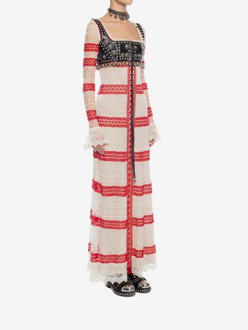 ALEXANDER MCQUEEN Long Lace Dress Long Dress D d