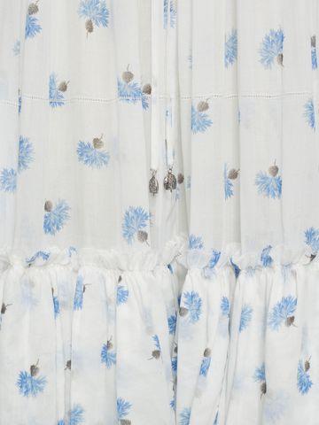 ALEXANDER MCQUEEN Ruffled Long Floral Dress Long Dress D a