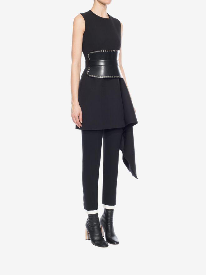 ALEXANDER MCQUEEN Draped Mini Dress Mini Dress D d