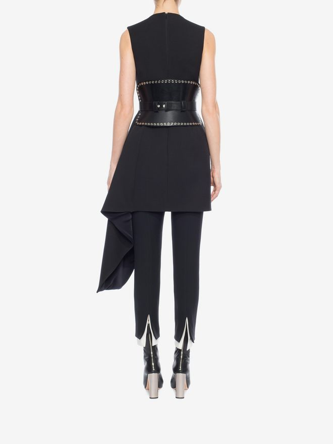 ALEXANDER MCQUEEN Draped Mini Dress Mini Dress D e