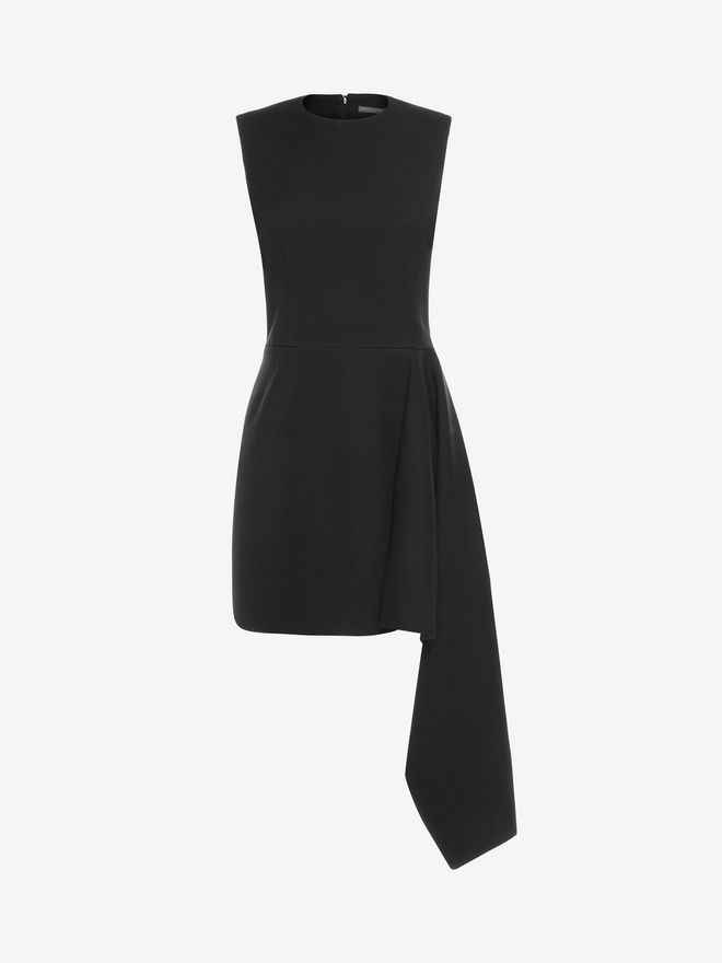ALEXANDER MCQUEEN Draped Mini Dress Mini Dress D f