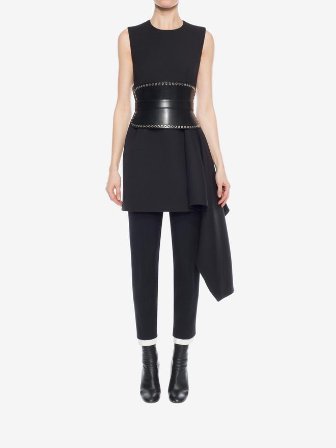 ALEXANDER MCQUEEN Draped Mini Dress Mini Dress D r