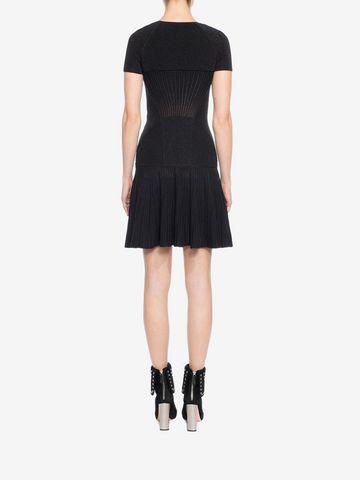 ALEXANDER MCQUEEN Mini Knit Dress Mid-length Dress D e