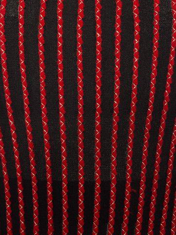 ALEXANDER MCQUEEN Long-Sleeved Knit Dress With Roll Neck Long Dress D a