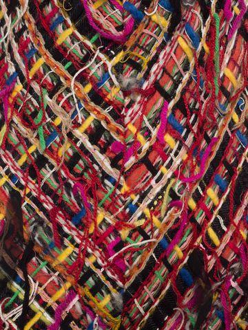 ALEXANDER MCQUEEN Wishing Tree Tweed Pencil Midi Dress Long Dress D a