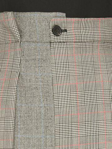 ALEXANDER MCQUEEN Asymmetrical Pencil Dress Mid-length Dress D a