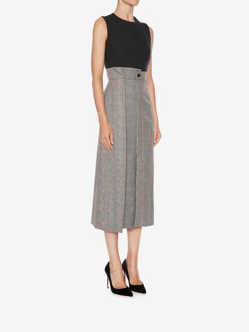 ALEXANDER MCQUEEN Asymmetrical Pencil Dress Mid-length Dress D d