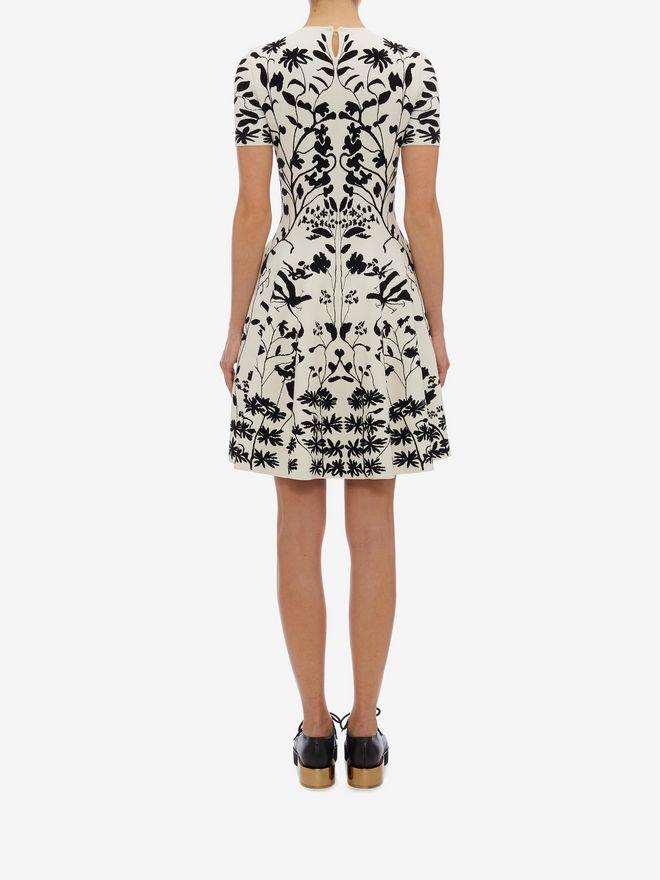 ALEXANDER MCQUEEN Knitted Mini Dress Mini Dress D e