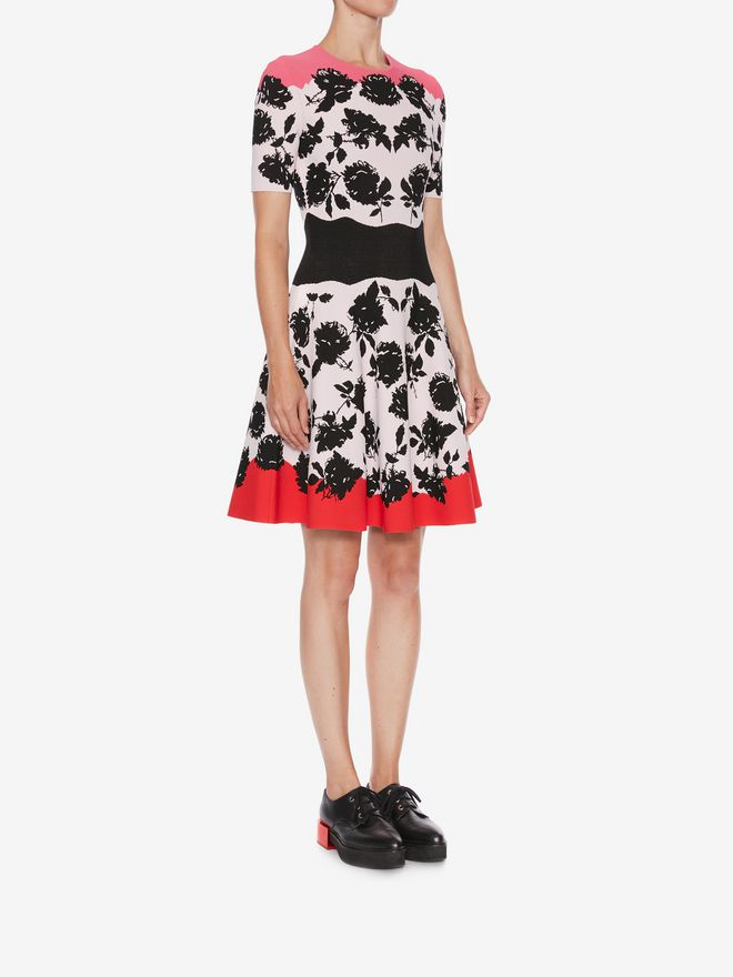 ALEXANDER MCQUEEN Knitted Mini Dress Mini Dress Woman d