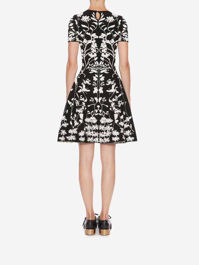 ALEXANDER MCQUEEN Knitted Mini Dress Mini Dress Woman e