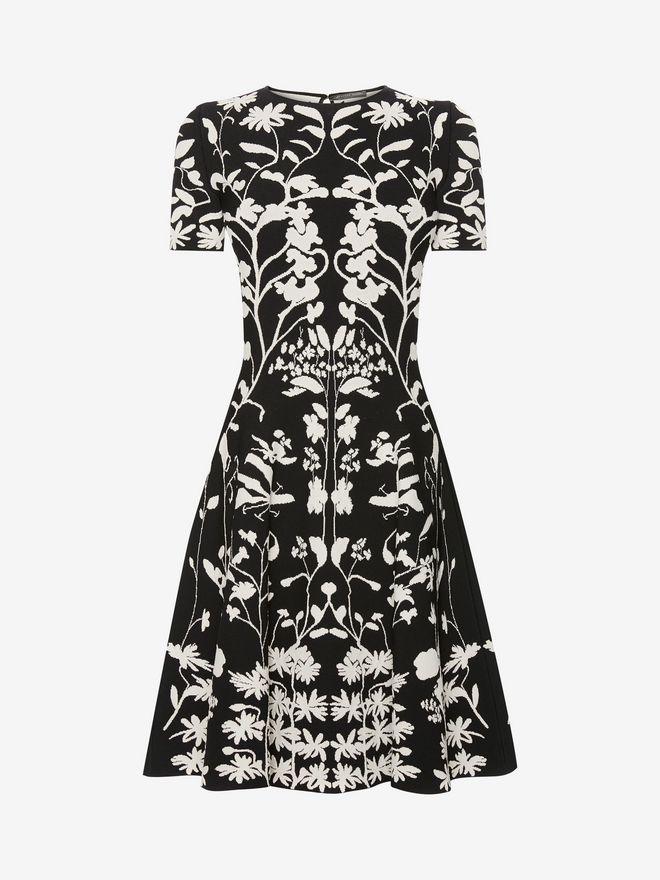 ALEXANDER MCQUEEN Knitted Mini Dress Mini Dress Woman f