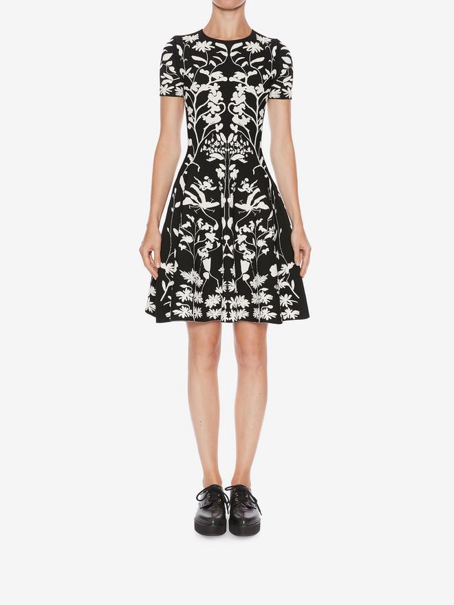 ALEXANDER MCQUEEN Knitted Mini Dress Mini Dress D r