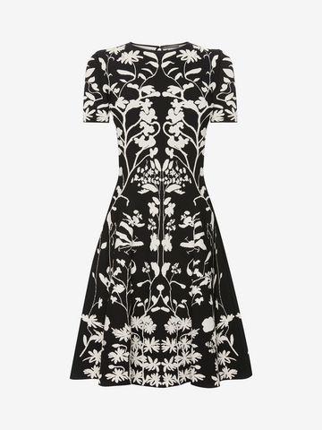ALEXANDER MCQUEEN Knitted Mini Dress Mini Dress D f