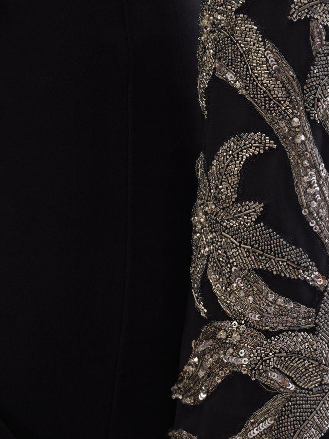 ALEXANDER MCQUEEN Embroidered Evening Dress Long Dress Woman a