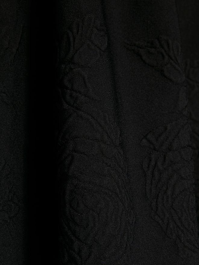 ALEXANDER MCQUEEN Off-The-Shoulder Mini Knit Dress Mini Dress Woman a
