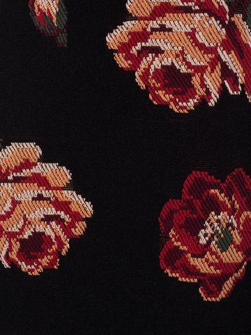 ALEXANDER MCQUEEN Rose Tapestry Mini knit Dress Mini Dress Woman a