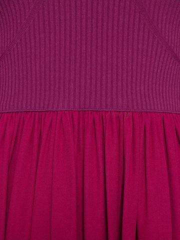 ALEXANDER MCQUEEN Colorblock Harness Mini Dress Mini Dress Woman l