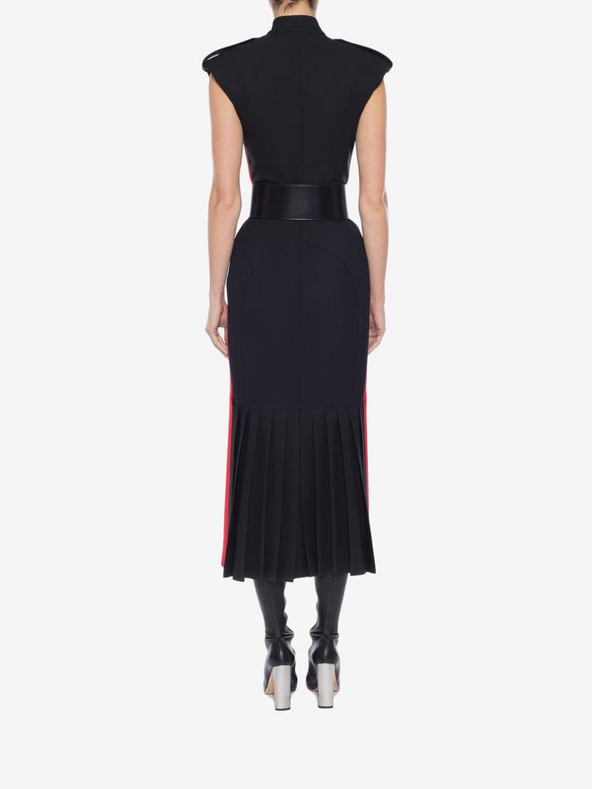ALEXANDER MCQUEEN Military Midi Dress Mid-length Dress Woman e