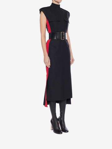 ALEXANDER MCQUEEN Military Midi Dress Mid-length Dress Woman d