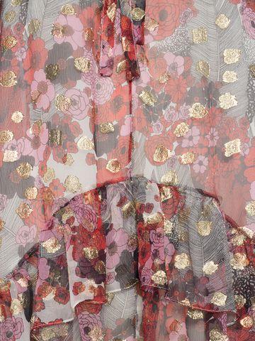 ALEXANDER MCQUEEN Feather Print Mini Dress Mini Dress Woman a
