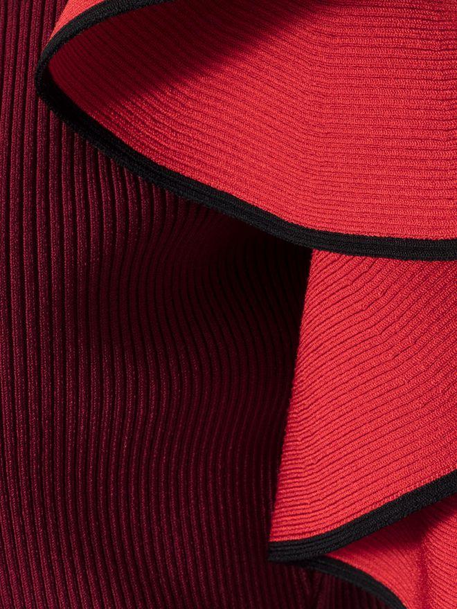 ALEXANDER MCQUEEN Harness Midi Knit Dress Mid-length Dress Woman l