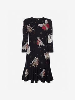 ALEXANDER MCQUEEN Mini Dress Woman Gothic Fairytale Mini Dress f
