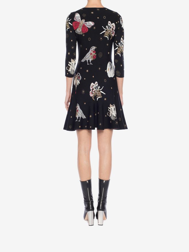 ALEXANDER MCQUEEN Gothic Fairytale Mini Dress Mini Dress Woman e