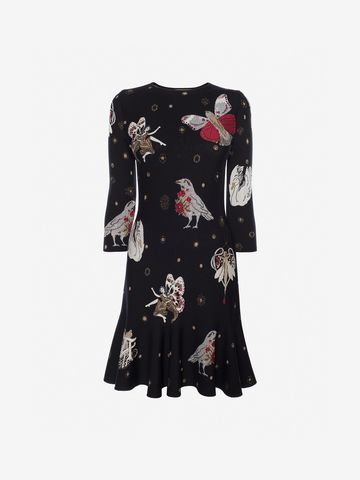 ALEXANDER MCQUEEN Gothic Fairytale Mini Dress Mini Dress Woman f