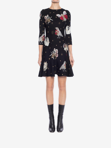 ALEXANDER MCQUEEN Gothic Fairytale Mini Dress Mini Dress Woman r