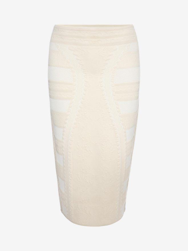 ALEXANDER MCQUEEN Pencil Knee Skirt Skirt D f