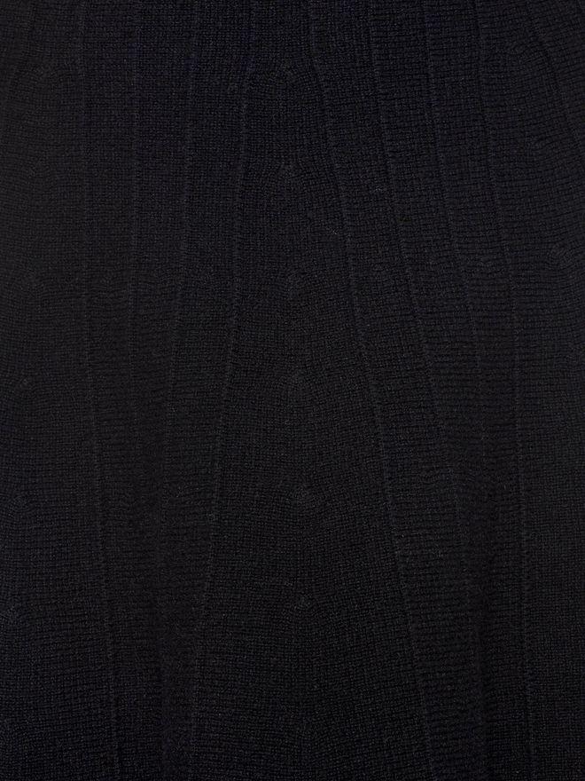 ALEXANDER MCQUEEN Knitted 1/2 Circle Knee Length Skirt Skirt D a