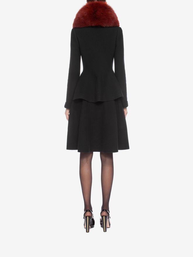 ALEXANDER MCQUEEN Knitted 1/2 Circle Knee Length Skirt Skirt D e