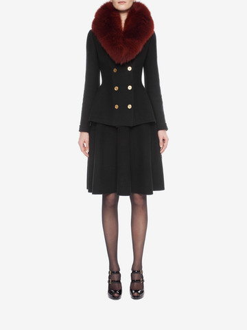 ALEXANDER MCQUEEN Knitted 1/2 Circle Knee Length Skirt Skirt D r