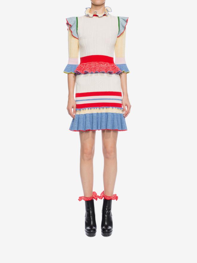 ALEXANDER MCQUEEN Peplum Mini Skirt Skirt D r