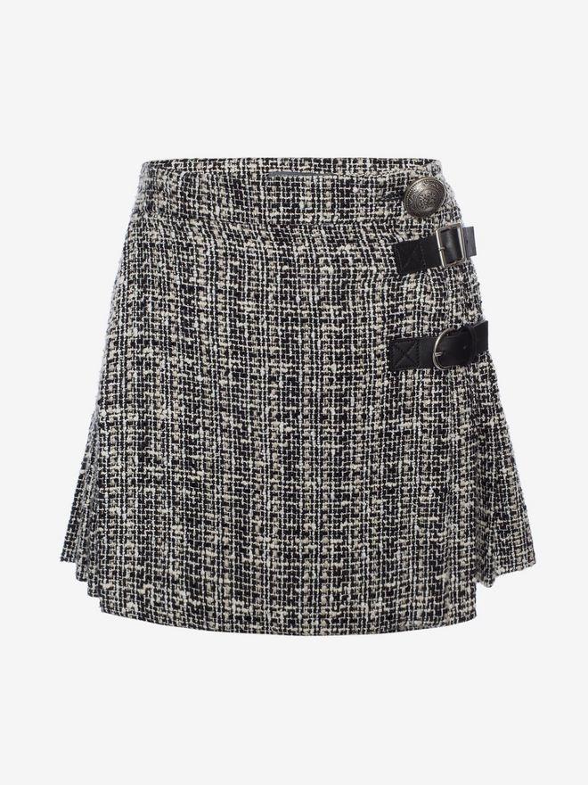 ALEXANDER MCQUEEN Mini Kilt Skirt Skirt D f