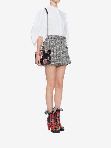 ALEXANDER MCQUEEN Mini Kilt Skirt Skirt D d