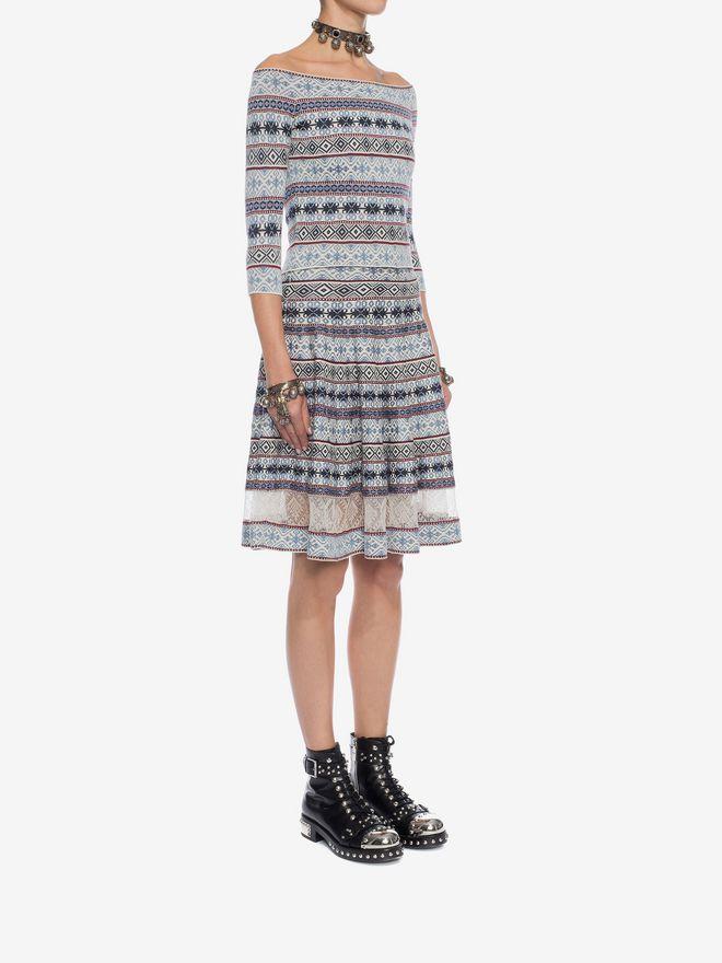 ALEXANDER MCQUEEN Knee-Length Jacquard Skirt Skirt D d