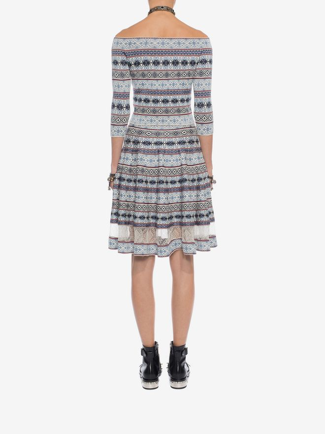 ALEXANDER MCQUEEN Knee-Length Jacquard Skirt Skirt D e