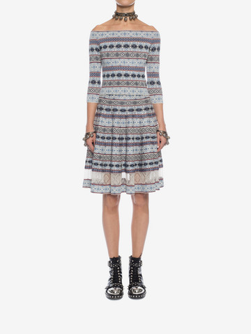 ALEXANDER MCQUEEN Knee-Length Jacquard Skirt Skirt D r