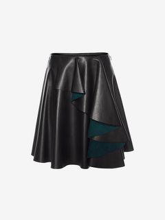 ALEXANDER MCQUEEN Skirt D Ruffle Mini Skirt f