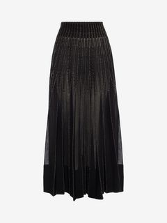 ALEXANDER MCQUEEN Skirt D Long Knit Skirt f