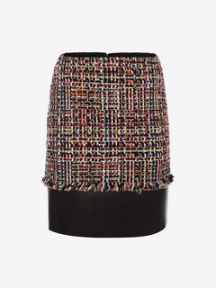 ALEXANDER MCQUEEN Skirt D Wishing Tree Tweed Mini Skirt f