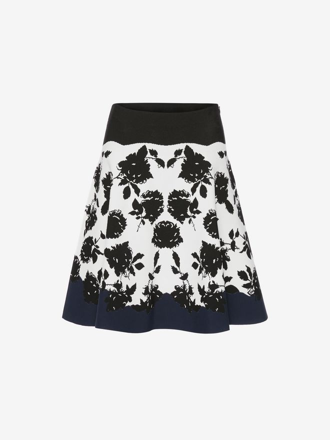 ALEXANDER MCQUEEN Knitted Mini Skirt Skirt D f