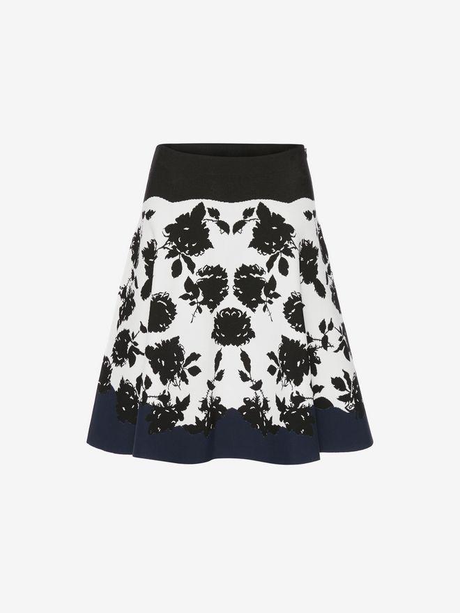 ALEXANDER MCQUEEN Knitted Mini Skirt Skirt Woman f