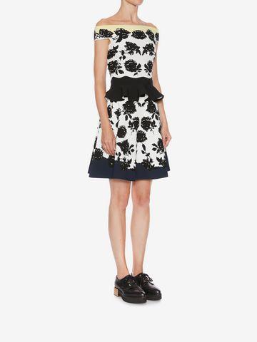 ALEXANDER MCQUEEN Knitted Mini Skirt Skirt Woman d